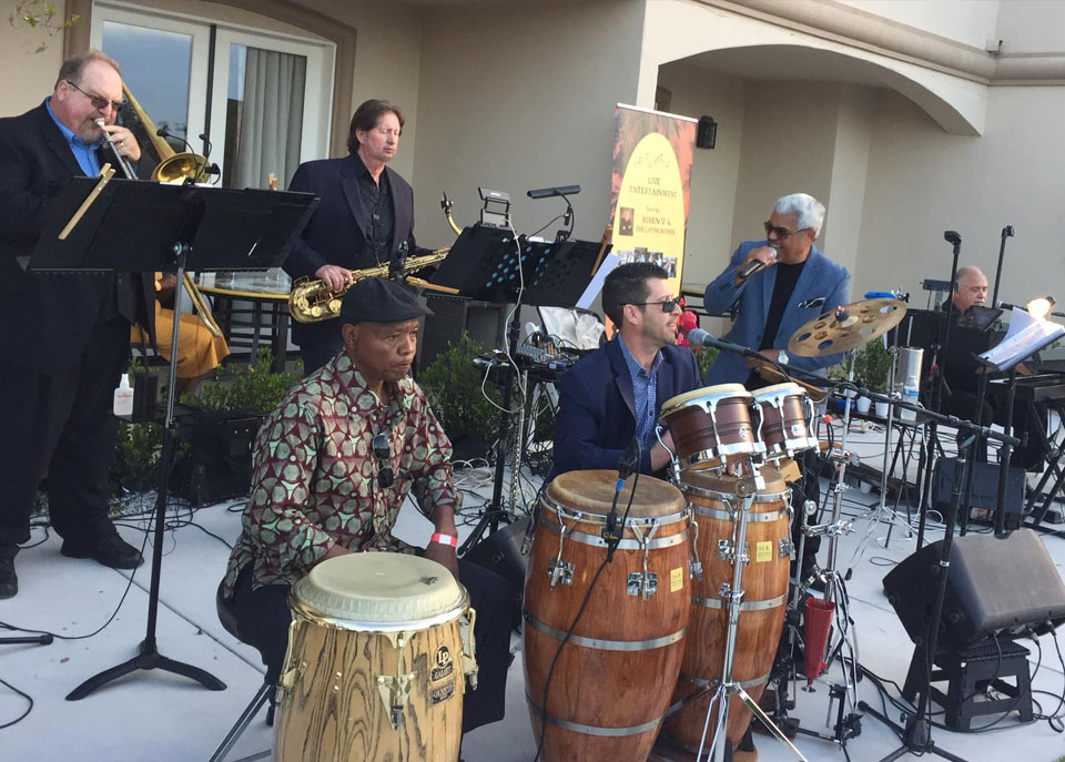 Ruben V and The Latin Sounds Live music in Temecula