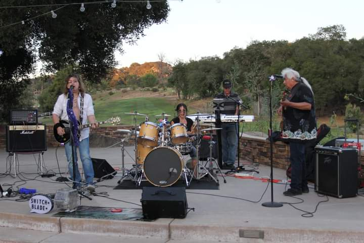 Switch-Blade Band Entertainment in Temecula